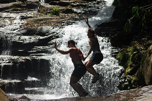 Costa Rica Rios Adventure Vacation with Cliff Jumping.