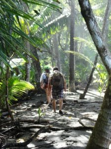 Hiking Corcovado National Park