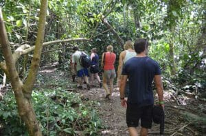 Hiking Cahuita National Park