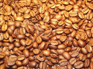 Costa Rica coffee golden grain