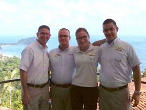 Costa Rica hotel staff