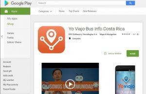 Yo Viajo app