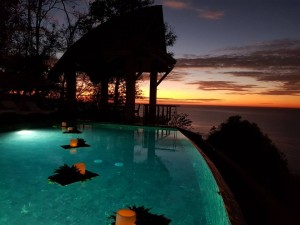 One of Costa Rica's honeymoon resorts