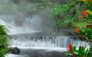 Costa Rica hot spring