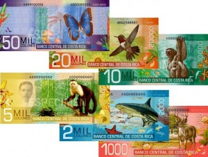 Costa Rica vacation currency