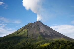 Unique volcanic travel experience