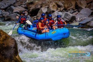 River rafting Tenorio