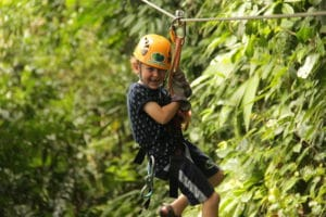 Manuel Antonio canopy family adventure vacation
