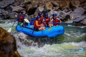 Turrialba rafting