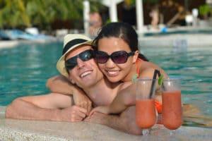Costa Rica Honeymoon couple