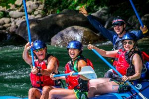 River rafting in Costa Rica