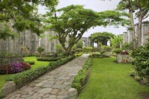 Ruins of the Santiago Apostol church in Cartago, Costa Rica.