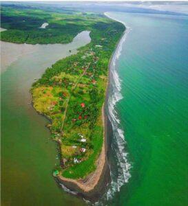 The beaches of Playa Zancudo
